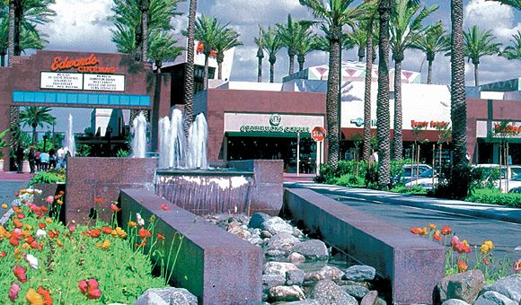 Cerritos Town Center Fountains