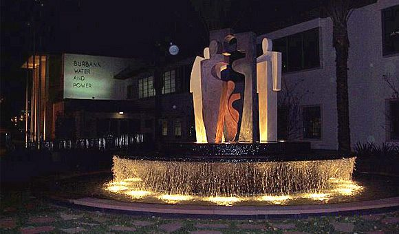 Burbank Department of Water & Power Fountain
